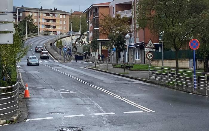 Iberre eta Arrietara kaleak asfaltatzeko eta konpontzeko lanak, lehiaketa publikora