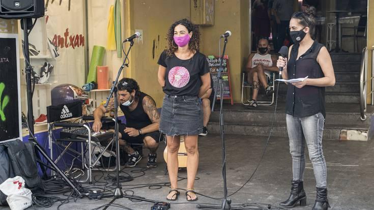 Torreneko erakusketa-aretoa ixtearen aurkako ekitaldia egin du Artibistak kolektiboak