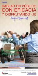 Tailerra: Hablar en público con eficacia y disfrutando (II)