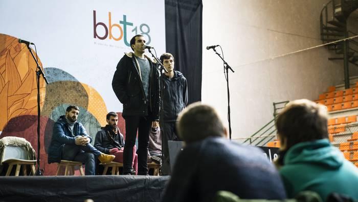 Aitor Bizkarra nagusitu da Plentziako bertso-kanporaketan