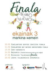 Bizkaiko Eskolarteko Bertsolari Txapelketako finalean ALBEko hiru bertsolari!