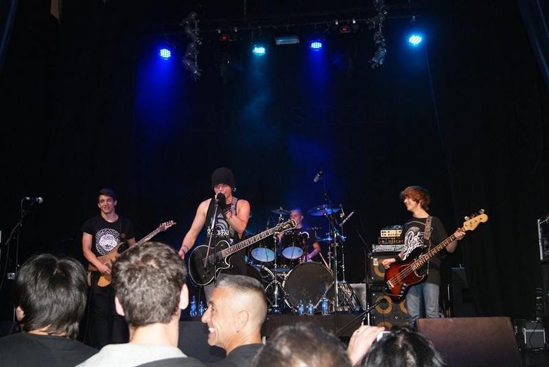 Aste Nagusiko musika-taldeen erakustaldian parte hartuko du Late to Scream talde gorliztarrak