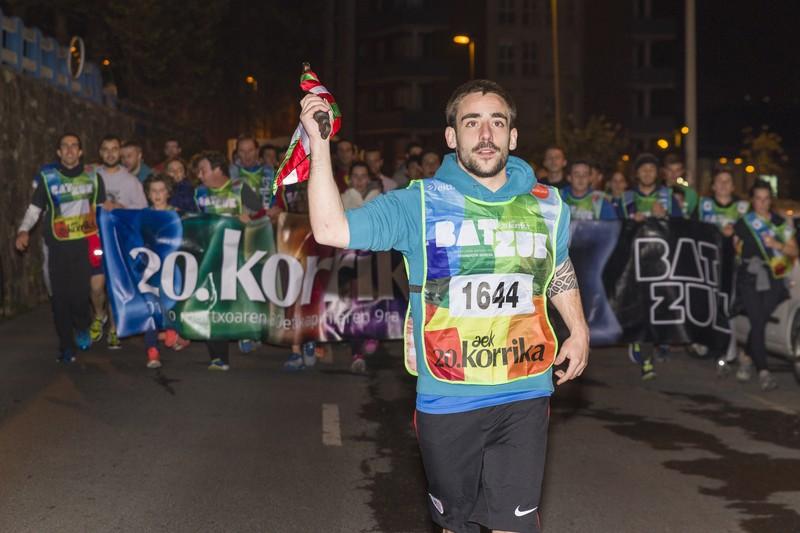 Korrika, Uribe Kostan barrena - 107