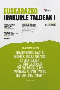 Euskarazko Irakurle Taldeak (I)