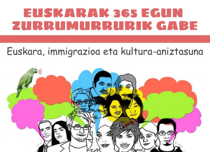 Kultura-aniztasuneko esparruetan euskararen gainean hausnartuko dute Algortan